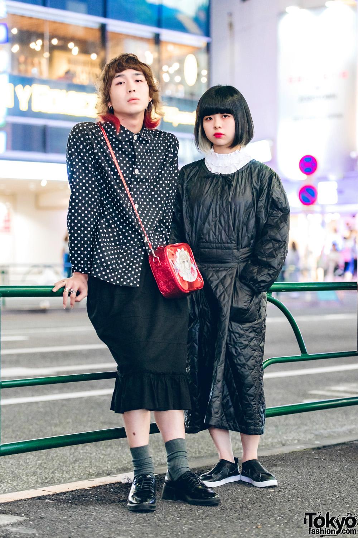Japanese Minimalist Fashion W Comme Des Garcons Zara Nike Jenny Fax X Takahashi Makoto