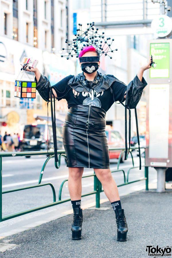 All-Black DIY Avant-Garde Street Style w/ Syro, Kotomi Yoshida & Moschino