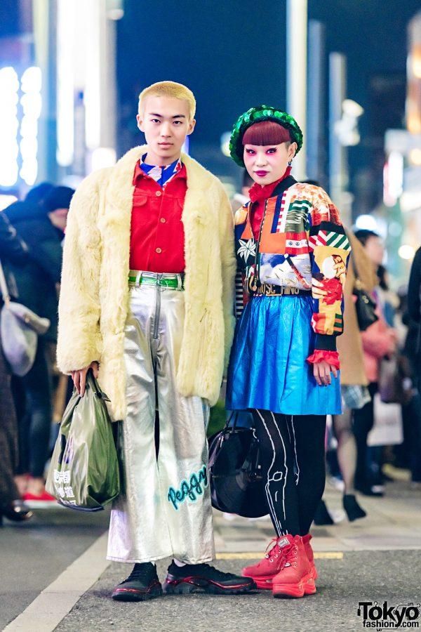 Japanese Stylist & Harajuku Nail Artist in Avant-Garde Street Styles w/ Comme des Garcons, Haight&Ashbury, GVGV, Raf Simons, Y-3, Moschino & Yosuke