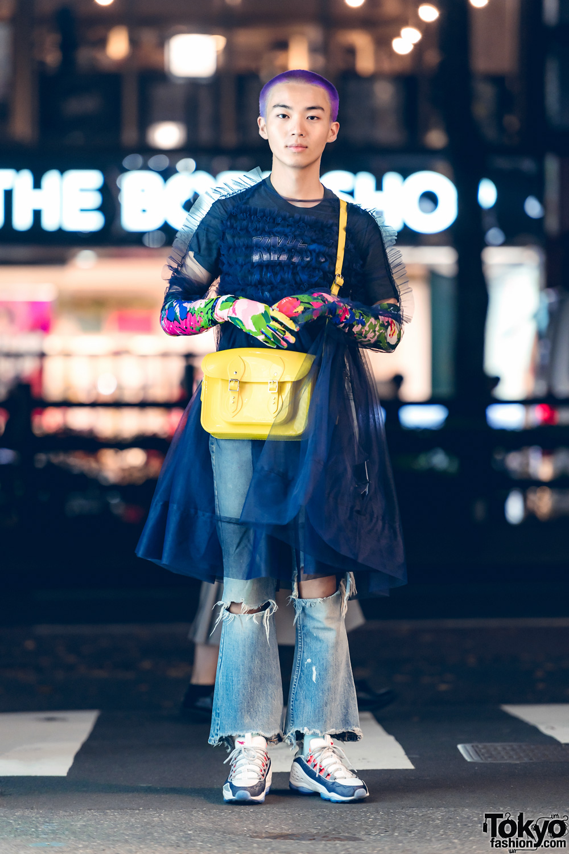 Japanese Stylist Bunta Shimizu In Harajuku W Molly