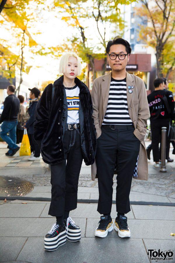 Tokyo Street Styles w/ Open the Door, Hyein Seo, Comme des Garcons Homme Plus, Gucci & Raf Simons