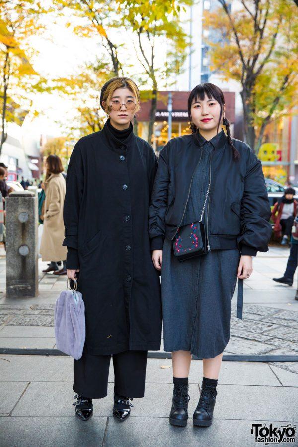 Harajuku Girls in Street Fashion w/ Monki, Faith Tokyo, Lowry's Farm, GU & UNIQLO