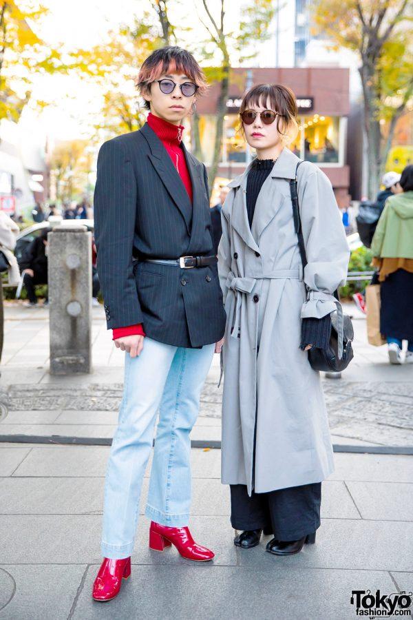 Street Style Power Dressing w/ Commes des Garcons, Mila Owen, Ruien, Faith Tokyo, Nina Ricci, Marc Jacobs & Toga