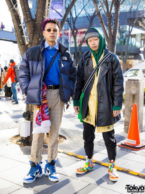 Harajuku Guys Winter Street Styles w/ Comme des Garcons, Maison Margiela, Chrome Hearts, Faith Tokyo & Nike