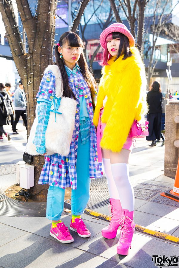 Harajuku Girls in Kawaii Fashion w/ 6%DOKIDOKI, Panama Boy, H&M, Nike & UNIQLO
