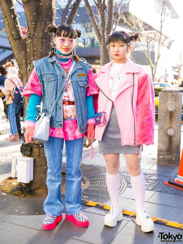Colorful Street Fashion w/ 7% More Pink, UNIF, Bubbles, Yosuke, New York Joe, Punk Cake & Vivienne Westwood