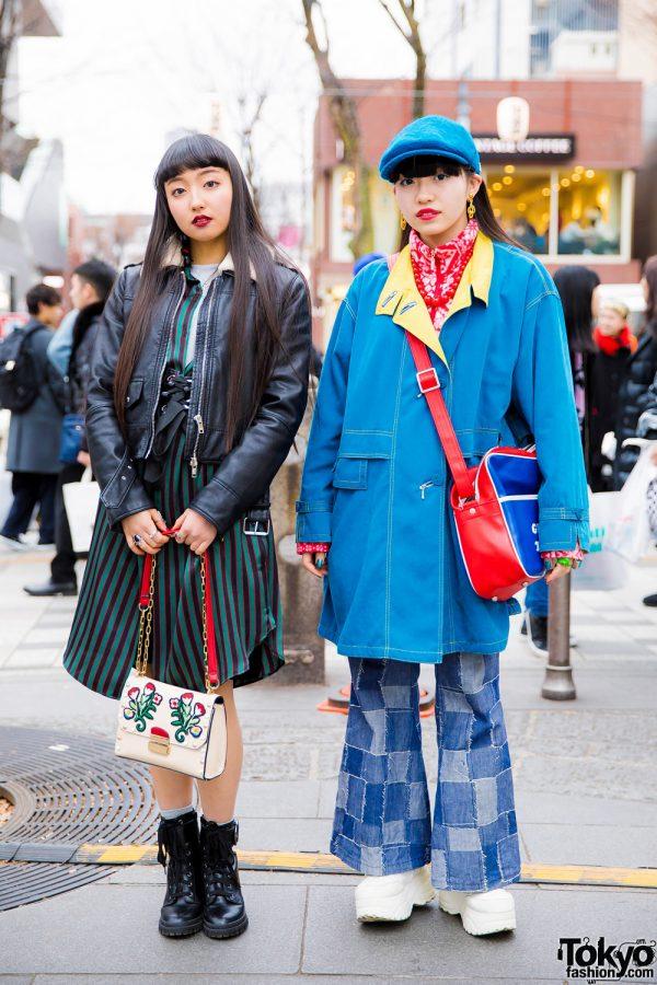 Harajuku Teens in Retro Street Styles w/ Petit Cochon, Punk Cake, Kinji, Yosuke, Oh Pearl, Thank You Mart & Stradivarius