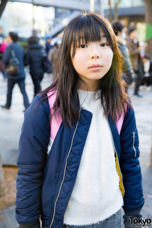 Harajuku Teen Trio in Cute Winter Fashion Styles w/ Anap ...