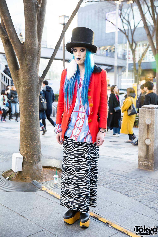 95e70dda12d Colorful Avant-Garde Harajuku Street Style w  Vivienne Westwood