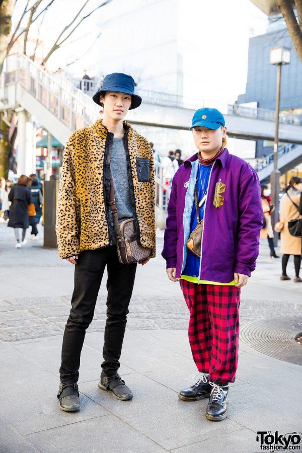 Harajuku Guys in Mixed Prints and Bold Colors w/ Faith Tokyo, Kappa, Ambush, Supreme, Givenchy, Y-3 & Gucci
