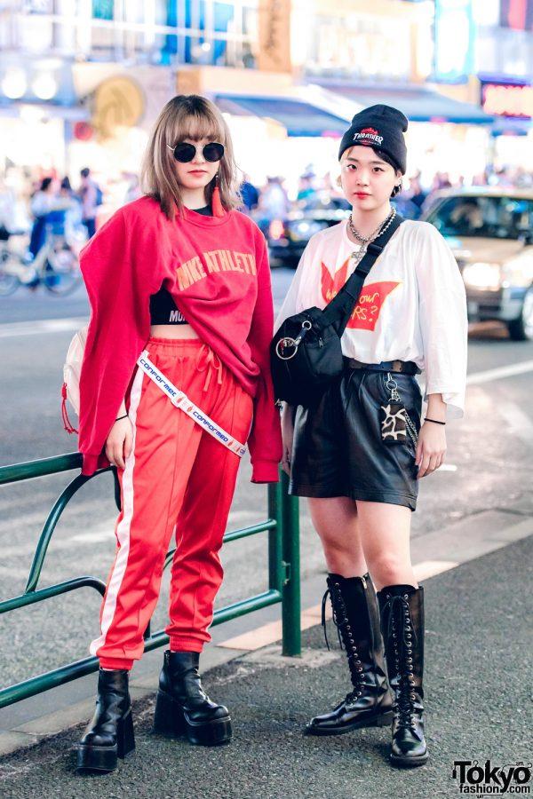Harajuku Teens in Vintage Street Fashion w/ More Than Dope, M.Y.O.B. NYC, YRU, Hoyajuku, Vivienne Westwood, Kinji, Faith Tokyo & WEGO