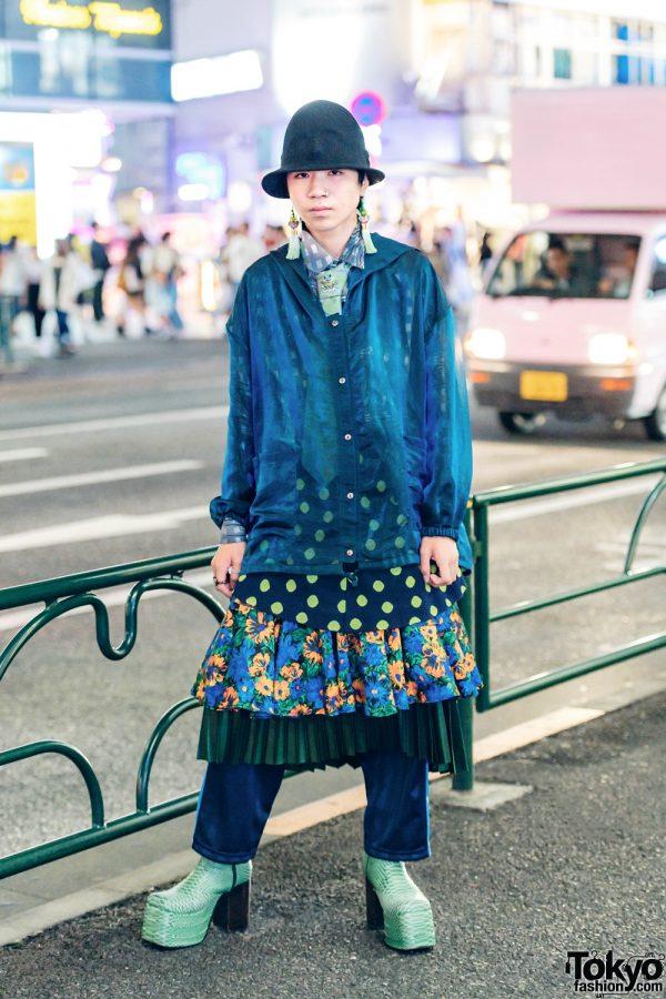 Vintage Menswear Street Style w/ Apollo, Kinji, Marc by Marc Jacobs & Paul Smith
