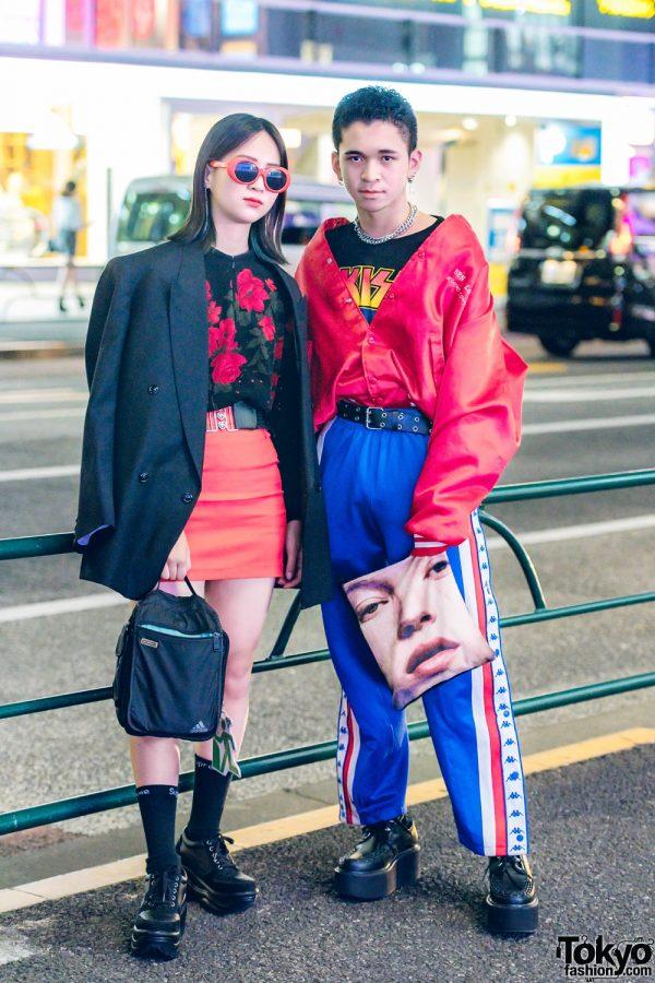 Harajuku Teens in Bold Colors & Prints w/ WEGO, Kappa, M.P.Q., Yosuke & Romantic Standard