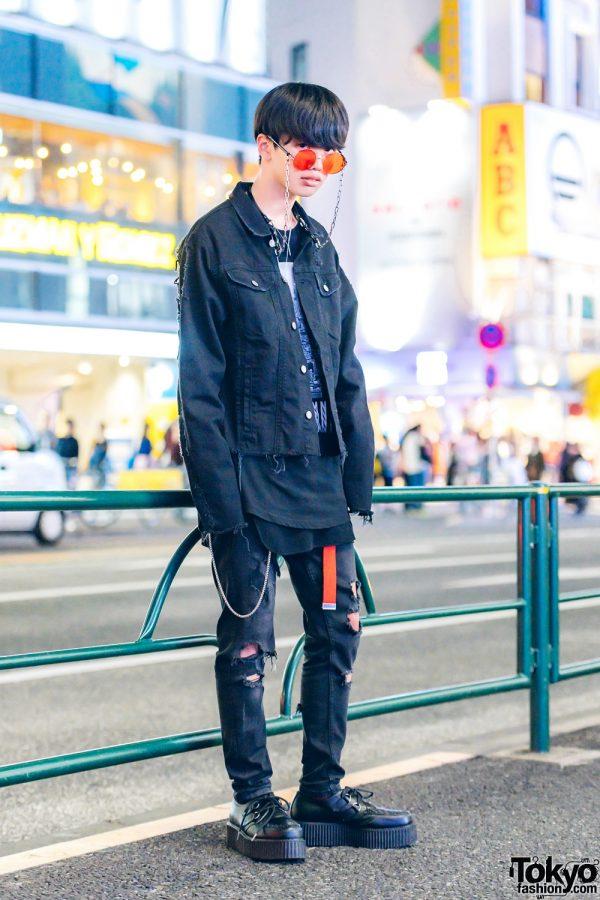 Japanese Edgy Streetwear w/ MSBHV, Demonia, Chanel & Never Mind the XU