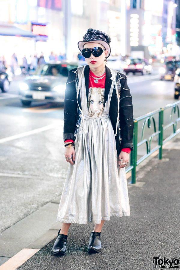 Harajuku Street Fashion w/ Comme des Garcons Homme Plus, Jenny Fax x Makoto, Comme des Garcons, Chrome Hearts, Gucci, Ambush & Walter Van Beirendonck
