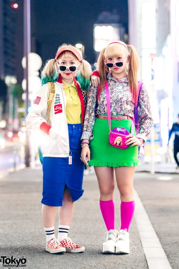 Colorful Kawaii Vintage Streetwear w/ GU, Spiral, Romantic Standard, Peco Club & Yosuke