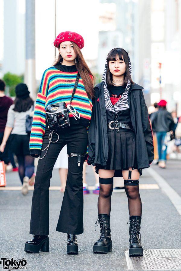Harajuku Girls Streetwear w/ UNIF, Bubbles, Eria/Area, Kappa, Oh Pearl, One Spo & Demonia