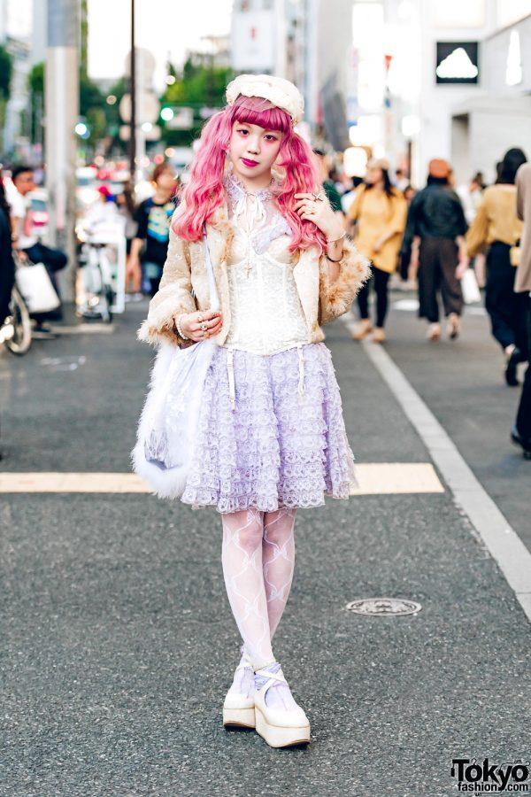 Harajuku Vintage Pastel Fashion w/ Anutrof, Yakusoku, Tokyo Bopper, Melange & Vintage Jewelry