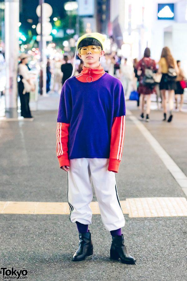 Harajuku Teen in Sporty Minimalist Style w/ Adidas, H&M, Carhartt & Christian Dior