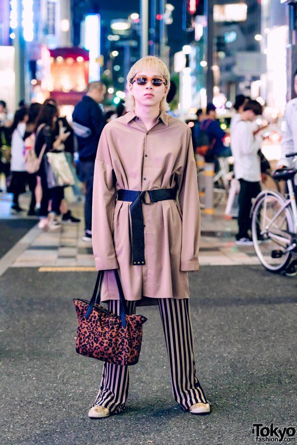 Harajuku Menswear Vintage Street Fashion w/ Cole Haan, Onitsuka Tiger & Zara
