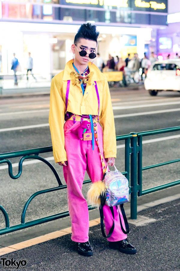 Colorful Streetwear Look in Harajuku w/ WEGO, Forever21 & G2? Accessories