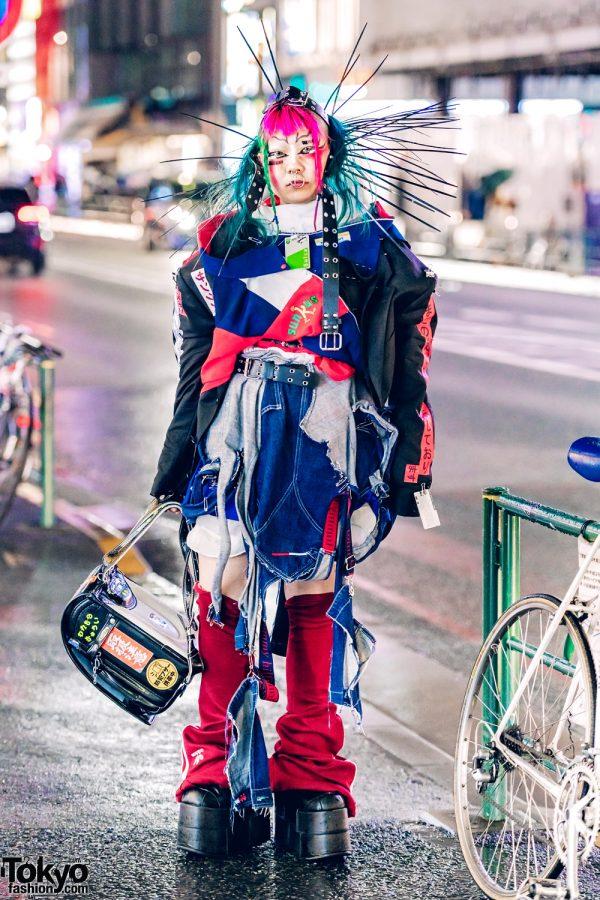 Handmade Avant-Garde Harajuku Street Style