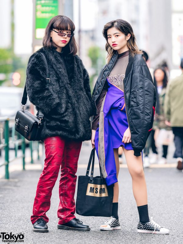 Japanese Streetwear in Harajuku w/ Pinnap, Guess, Dr. Martens, The Four-Eyed, MSGM, #FRZ, Versace, Avalanche & Pameo Pose