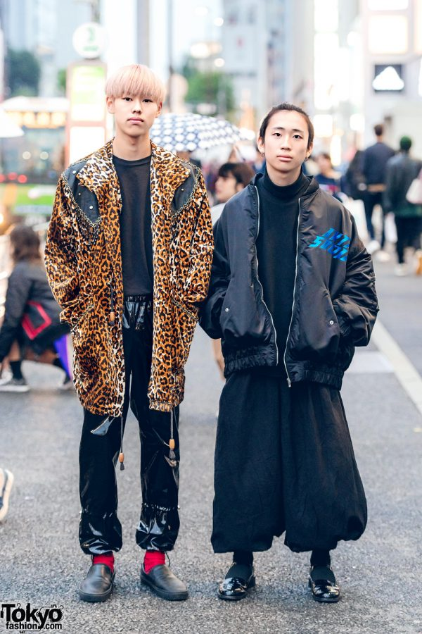Harajuku Guys in Streetwear Fashion w/ Y-3, Avalone, Hare & Kidill