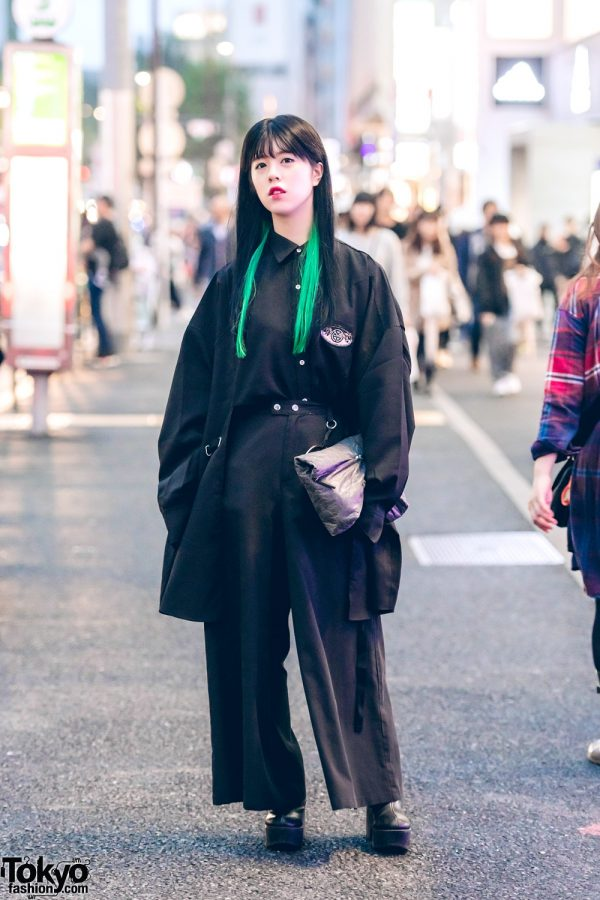 All Black Minimalist Fashion w/ MYOB, Fig & Viper, Jouetie, Warp & Toco Pacific