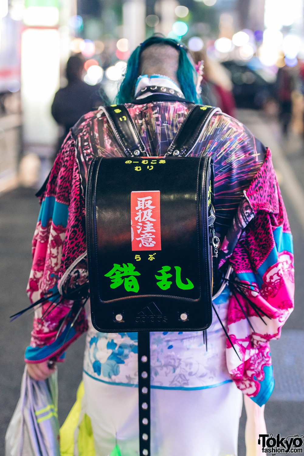 Colorful Japanese Avant Garde Street Fashion W Dog