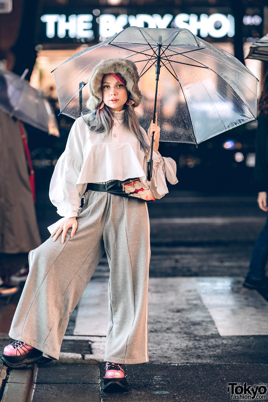 Sheidlina S Chic Minimalist Street Style In Harajuku W