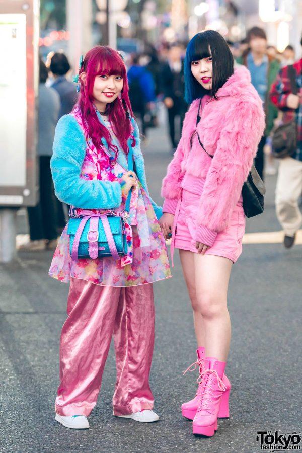 Harajuku Girls in Kawaii & All Pink Street Styles w/ 6%DokiDoki, H&M, New York Joe, Assist Wig, Candy Stripper, Faith Tokyo & Swimmer