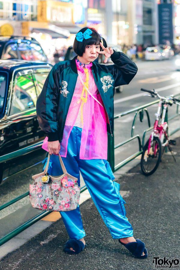 Colorful Harajuku Street Style w/ Cath Kidston, Emu, Okuma Shokai & Miyanishiyama