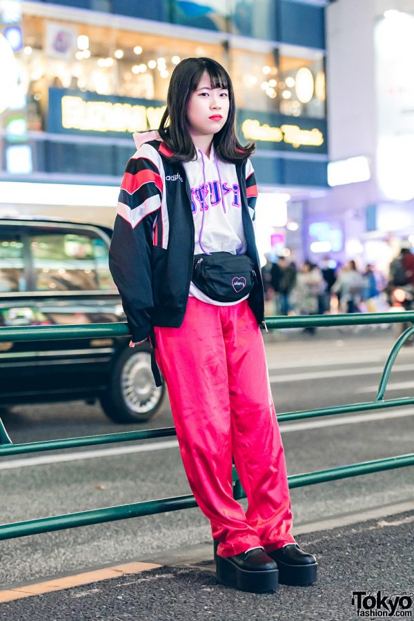 Japanese Athleisure Street Style w/ Kinji, Nadia & Bubbles