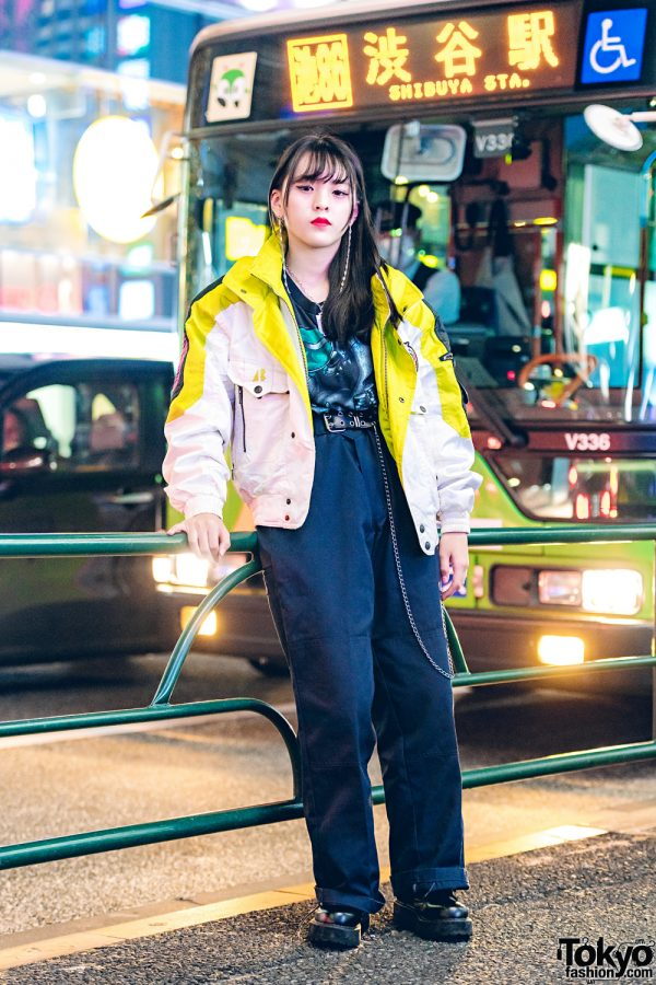 Casual Streetwear in Harajuku w/ Dickies, Faith Tokyo & Bubbles