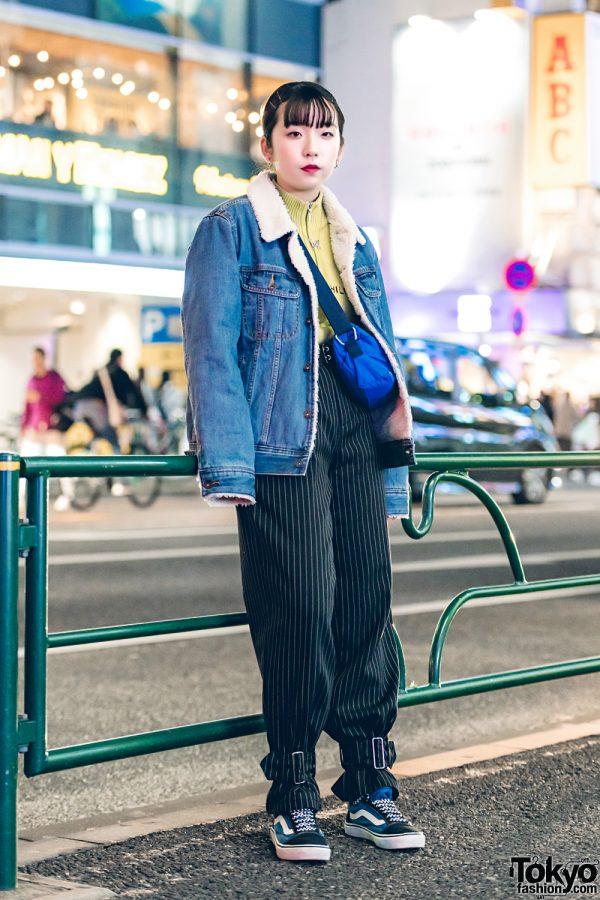 Harajuku Casual Street Fashion w/ GU, Faith Tokyo, Tommy Hilfiger, Polo Sport & Vans