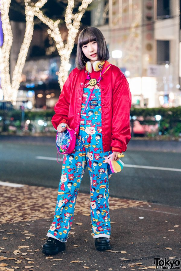 Kawaii Harajuku Overalls Fashion w/ Kinji, Spinns, Grand Ground, Yosuke & Spiral Toy Shop