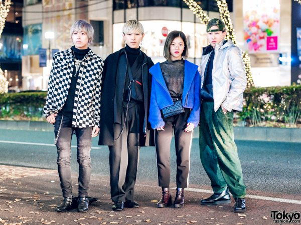 Harajuku Streetwear Looks w/ Comme des Garcons, Gucci, Chanel, Goro's, Prada, YSL & MCM