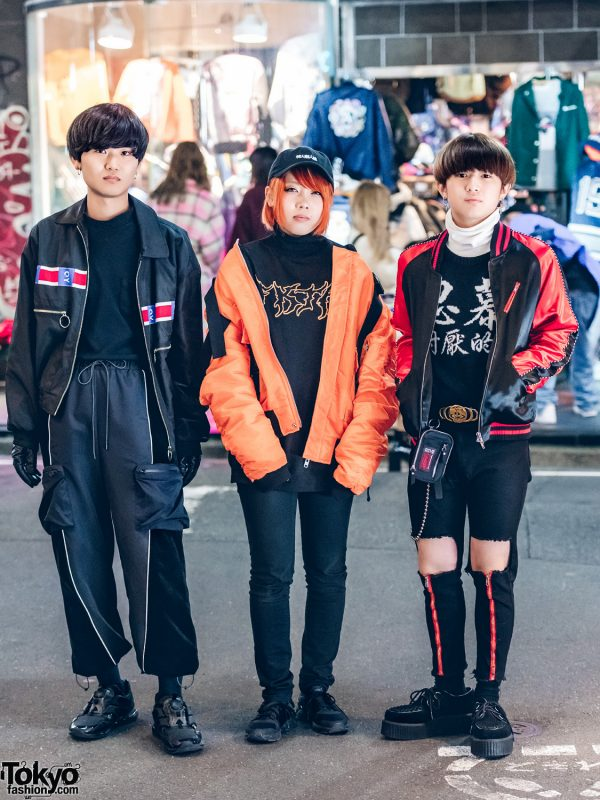Dark Harajuku Streetwear Styles by OY, Drinkscancode, Legenda, From K To All, I Am Not A Human Being, Another Youth & Codona De Moda