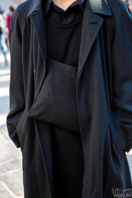 All Black Minimalist Winter Fashion W Domon S Yte