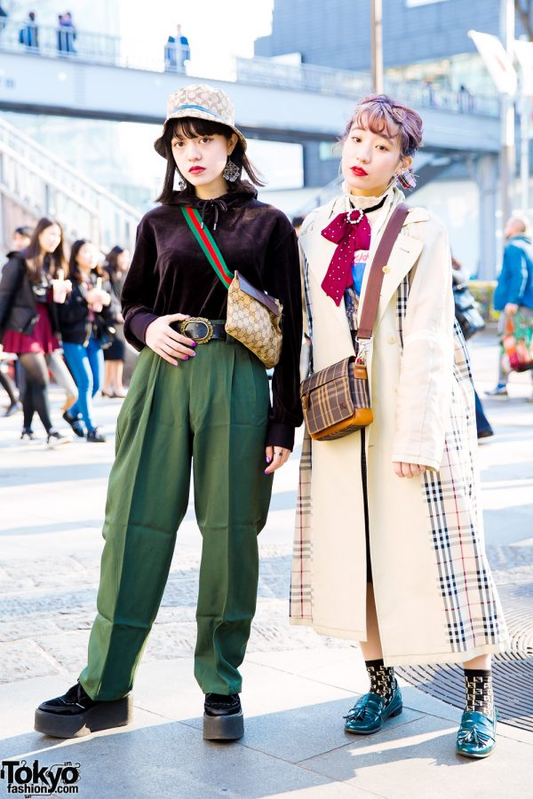 Japanese Street Style w/ New York Joe, Atereco, Gucci, Coach, Nadia, Burberry & Zara