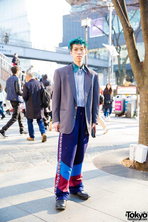 Harajuku Hair Stylist Street Style w/ Fenty x Puma, Christian Dior & Spectusshoeco.