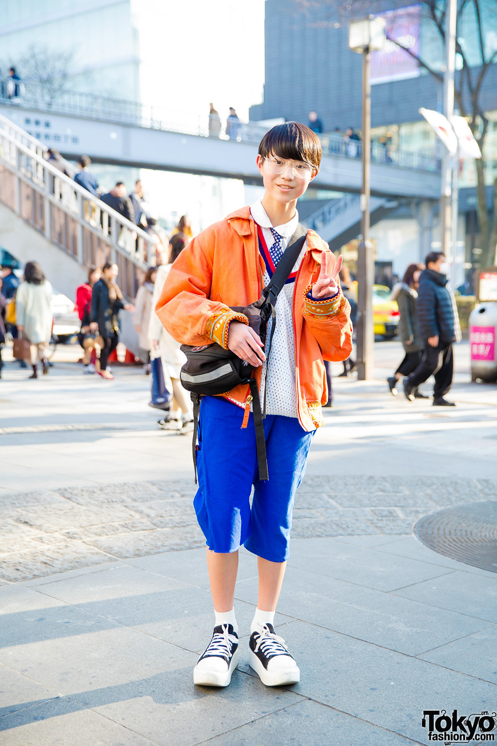 Japanese Casual Street Style w/ Comme des Garcons, Ganryu, Tokyo Bopper, Pink House & Stussy
