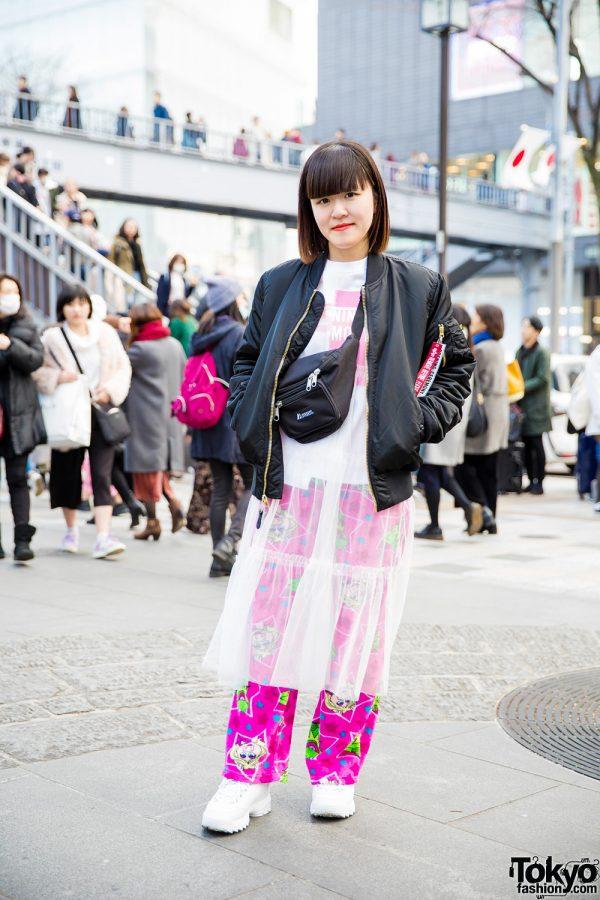 Japanese Street Fashion w/ Opening Ceremony x Alpha Industries, Fila, Nadia, Spank! & Opening Ceremony x X-Girl