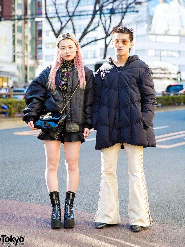 Harajuku Streetwear Styles w/ Girls Rule, 7% More Pink, Vivienne Westwood, GU, Nadia & Chrome Hearts