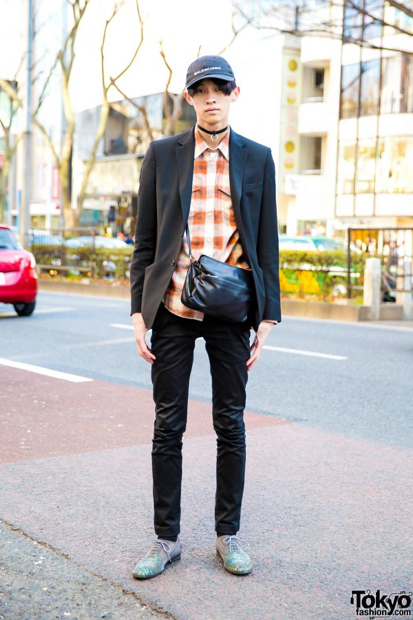 Designer Menswear Street Fashion w/ Maison Margiela, Yves Saint Laurent & Balenciaga