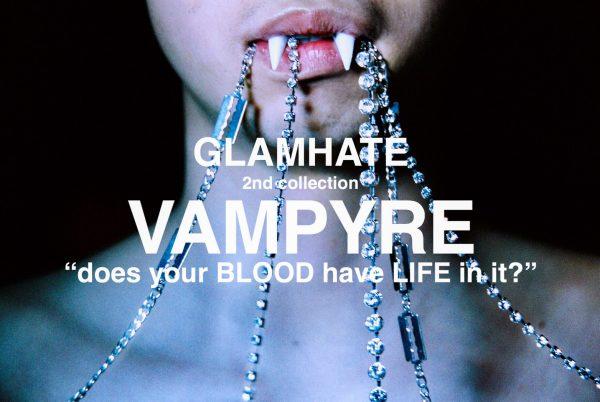 "Japanese Fashion Brand GlamHate ""VAMPYRE"" Collection & Designer Interview"