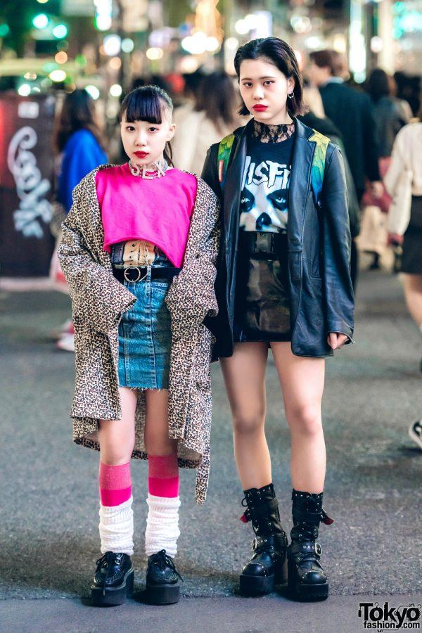 Harajuku Girl Streetwear Styles w/ Club Lovage, Kinji, Dog Harajuku, Faith Tokyo, Zara, Sprayground & Kenzo
