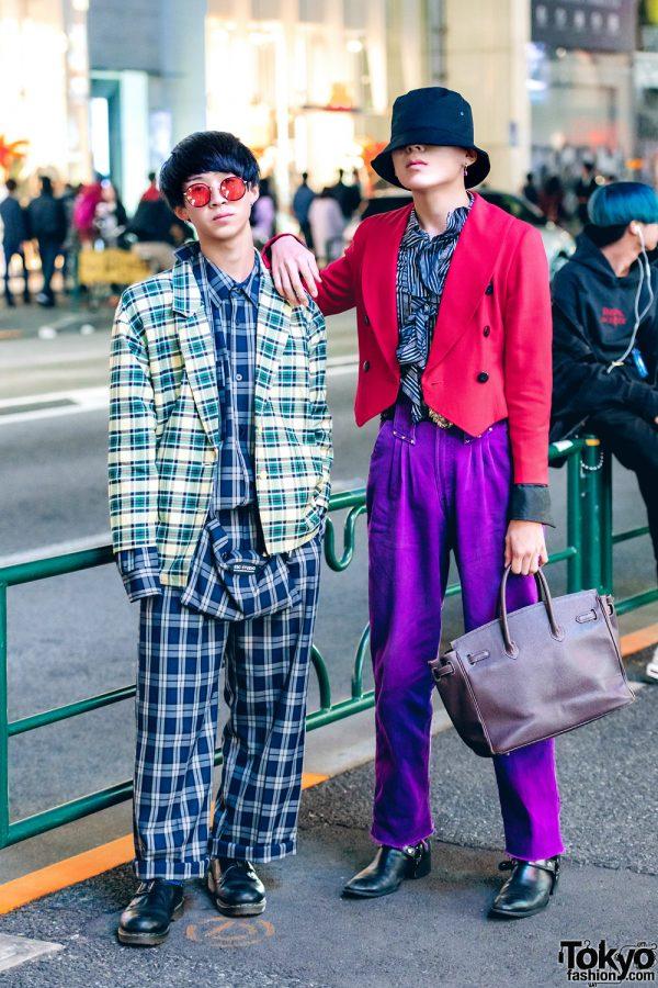 All-Plaid Streetwear & Vintage Designer Fashion w/ ESC Studio, Never Mind the XU, Hermes & Versace
