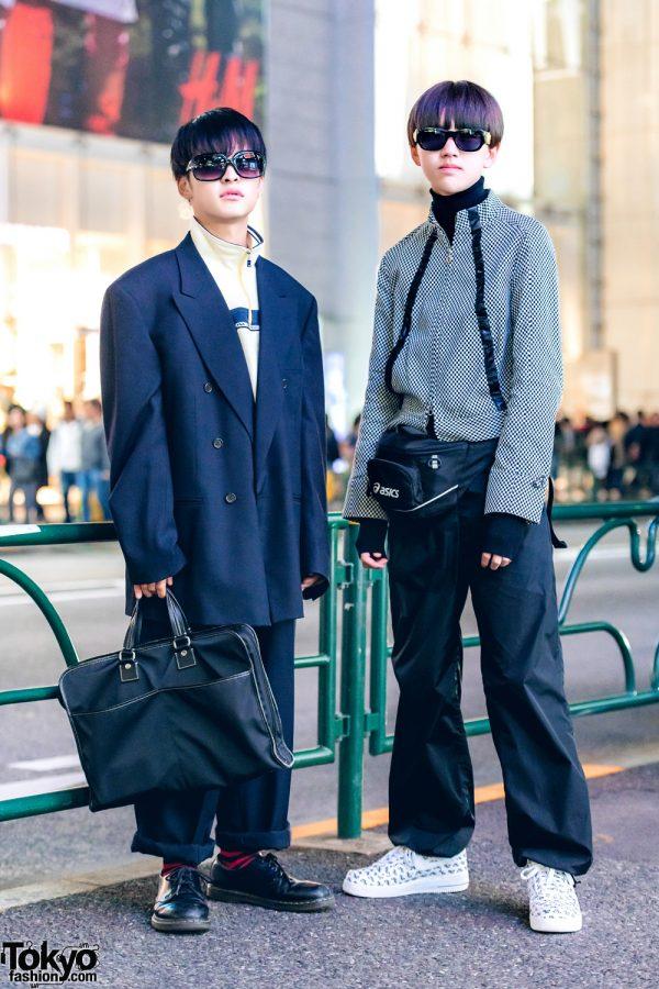 Japanese Streetwear Styles w/ Fendi, Coach, Versace, Prada Sports & ASICS